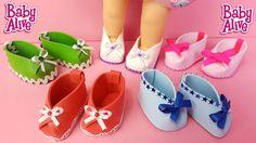 Como Fazer Sapato Para Baby Alive