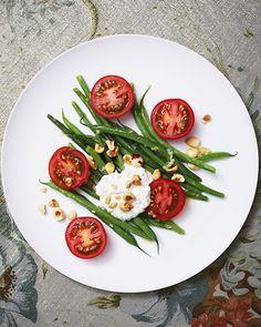 Rose Bakery's haricot vert, tomato, and housemade ricotta salad recipe