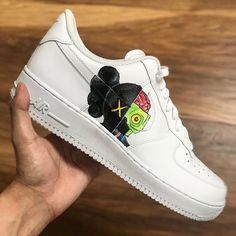Behind The Scenes By wavezofpaint Custom Painted Shoes, Custom Shoes, Yeezy Sneakers, Sneakers Nike, Nike Fashion, Sneakers Fashion, Diy Clothes And Shoes, Nike Shoes Air Force, Fresh Shoes