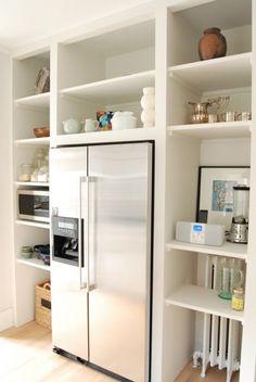 Kitchen Floor-to-Ceiling storage