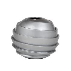 Galaxy Silver Vase #vases #modernluxuryvases #luxurypieces #bowl #luxurydecor #homedecor #contemporary #exclusivedesign #interiordesign #design #decorativehome #anavasconcelos #signaturepieces #numeroliving