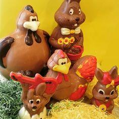Chocolade Paasfamilie