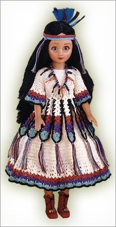 Princess Rainbow, love the crochet dress!