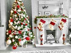 Christmas Stockings, Christmas Tree, Christmas Messages, Holiday Decor, Home Decor, Needlepoint Christmas Stockings, Teal Christmas Tree, Decoration Home, Room Decor