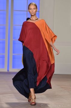 Style pick of the day-tommy hilfiger kaftan dress s-s 2012