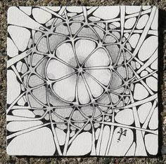 Zentangle: by Maria Thomas