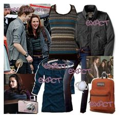 Bella and Edward at school (To: Twilight Outfits, Indie Hair, Bella Swan, New Moon, J Brand, Stylish Outfits, American Eagle Outfitters, Style Inspiration, Skinny