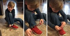 5-Year-Old's Genius Shoe Tying Tutorial Is Going Insanely Viral