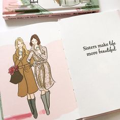 Sisters Make Life More Beautiful. My FIRST book! Available on Amazon.com and At Your local Barnes and Noble.