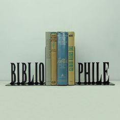Art métal bibliophile serrelivres  USA par KnobCreekMetalArts, $59.99