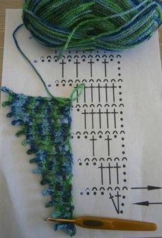 Baktus ༺✿Teresa Restegui http://www.pinterest.com/teretegui/✿ Essai du 01.07.16: le 1er échantillon est trop compact à mon gout. Essai du 16.12.16: là, c'est en crochet n°8 donc très aérien, peut-être trop... 02.02.17: c'est parti depuis plusieurs semaines, il grandit mon baktus!