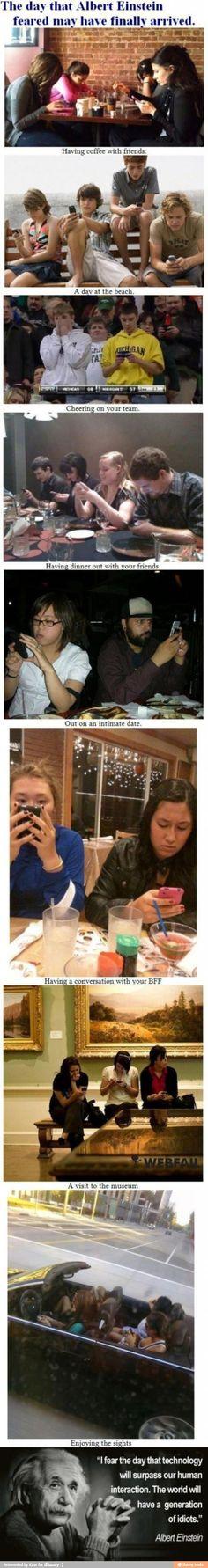 Funny. Sad. True.