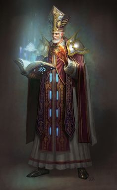 Priest by cenotaph kveldulv | Fantasy | 2D | CGSociety