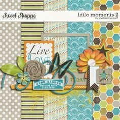 Quality DigiScrap Freebies  ~~~Melissa Bennett Little Moments 2 Minikit
