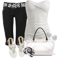 Great End of Summer Outfit.