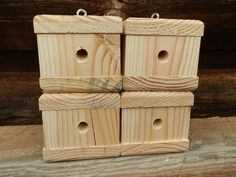 2 Carpenter Bee Traps And Pest Control Handcrafted In USA
