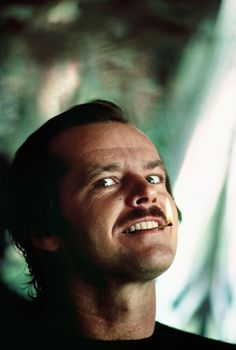 Jack Nicholson.  I love that 3 of my fave celebs all look alike- Nicholson, Bono and Robin Williams :-)