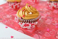 Chocolate Cupcakes with Dulce de Leche Frosting - Cupcake Daily Blog - Best Cupcake Recipes .. one happy bite at a time!