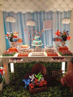 Momento Único Decoração de Festas Infantis: Pipas e Cataventos: