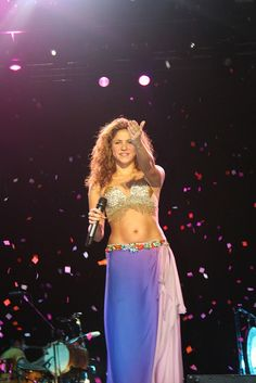 I need to take up belly dancing. Shakira