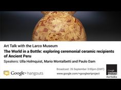 Art Talk with the Larco Museum, Peru