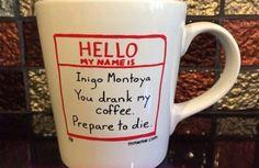 This mug that's dead. serious.