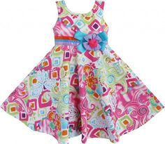 Girls Dress Hawaii Dancing Colorful Sundress Party Size 6 Sunny Fashion,http://www.amazon.com/dp/B00CN39030/ref=cm_sw_r_pi_dp_hbgDsb0FDRZ163NQ
