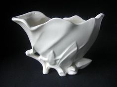 Vintage Nelson McCoy 1940s  Lily Bud Vase