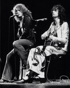 Robert Plant & Jimmy Page