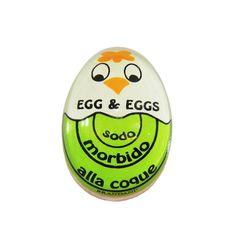 - Medidor de cozimento ovo.  Indica a etapa de cozimento do ovo: mole, macio e cozido. Disponível na Oren.