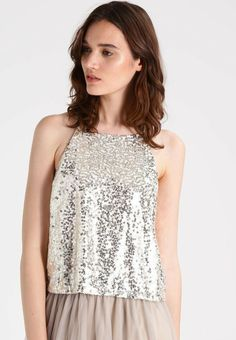 19603aa8d85 Even  amp  Odd Sequin Top Gold Size UK M rrp 30 DH087 HH 22