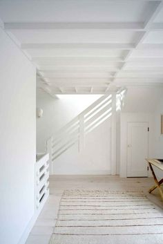 Montauk house. White