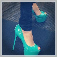 Betsey Johnson heels. I need these.