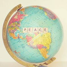 Peace is not something your wish for; it's something you make, something you do, something you are, and something you give away. #Peace