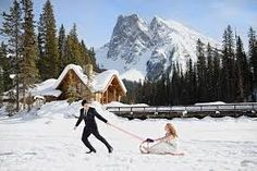 Image result for winter wedding in mountains