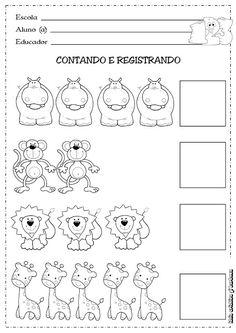6 Small Medium Large Worksheet for Preschool Worksheets Kindergarten Math Worksheets, Learning Activities, Kids Learning, Numbers Preschool, Preschool Activities, Math For Kids, Pre School, Education, Numeral 1