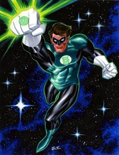 Green Lantern, in Ron Pittman's Bruce Timm Comic Art Gallery Room Comic Book Artists, Comic Book Characters, Comic Artist, Comic Books Art, Comic Character, Bruce Timm, Dc Comics Art, Marvel Dc Comics, Marvel Heroes