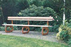 Gartenbank für Tina Turner aus Grauguss