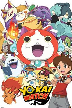 Yokai Watch Cast Television Poster 24x36 -- You can get additional details  at the image b563958ee1