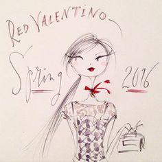 Red Valentino Spring 2016 | Anne Keenan Higgins