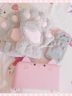 Pink Paradise — cruelcrayon: cat stuff ~ ( ๑◜ω◝๑ )