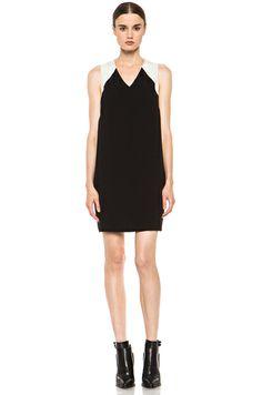 rag & bone | Solo Dress in Black & Ivory