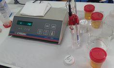 9. Intruducir el electrodo en el calibrador pH 4