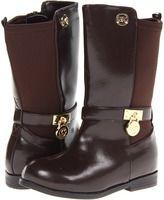 MICHAEL Michael Kors Kids - Parson 2 (Toddler/Little Kid/Big Kid) (Chocolate Brown) - Footwear