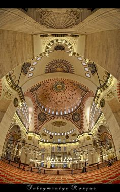 *Suleymaniye Mosque* saw it beautiful