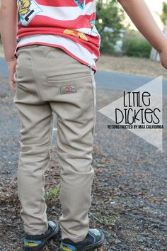 Mens XXL Dickies pants reconstructed into Vincent Dickies!