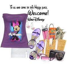 Day at Disney - Polyvore