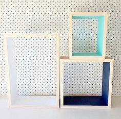 שלישיית מדפים מעוצבים, מדפים דקורטיבים, | My Ideal Home - הבית האידיאלי | מרמלדה מרקט