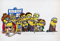 Dr. Who minion style