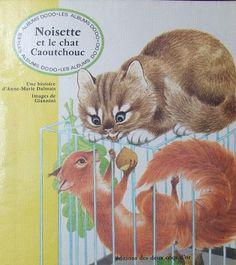 Noisette et le chat Caoutchouc